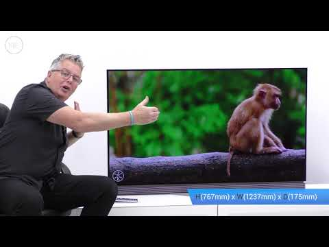 """LG OLED55E7N 55"""" 4K Ultra HD OLED Television Review (with input lag testing)"""