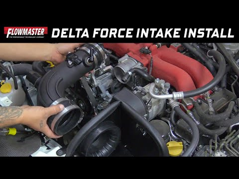 2013-18 Subaru BRZ, Scion FRS, Toyota 86 2.0L - Install: Delta Force Cold Air Intake