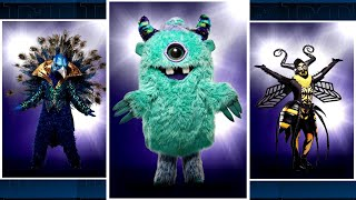 The Masked Singer Finale: Find Out Which Musicians the Monster, Peacock and Bee Were!