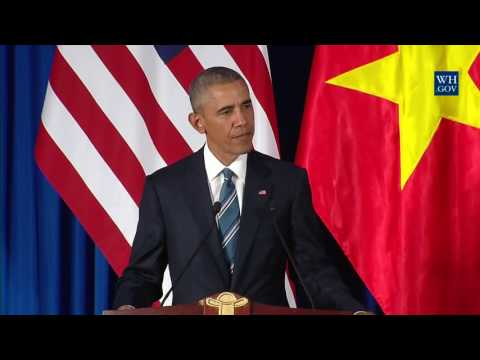 Lifting of Vietnam arms embargo 'not about China'? Pull the other one, Obama