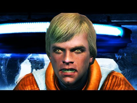 What If Luke Skywalker Turned To The Darkside (Star Wars: The Force Unleashed)