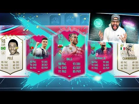 OMG HIGHEST RATED FUT BIRTHDAY DRAFT CHALLENGE! #FIFA19 Ultimate Team Draft