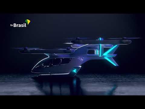 Vídeo | Embraer mostra 'carro voador' elétrico feito no Brasil