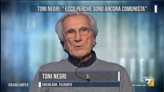 Toni Negri: 'Ecco perchè sono ancora comunista'