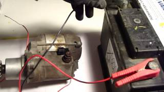 How Works Car Starter Or Start Motor. Look How It Really Works.