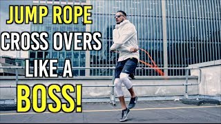 7 JUMP ROPE CROSSOVER VARIATIONS (For Beginners) by RUSH ATHLETICS