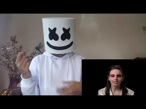Marshmello - Here With Me Feat  CHVRCHES [Alternative Music Video] | (Mello Reaction) - Millen Walker