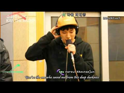 [eng sub / roman / hangul] B.A.P - With You LIVE @ Kiss The Radio