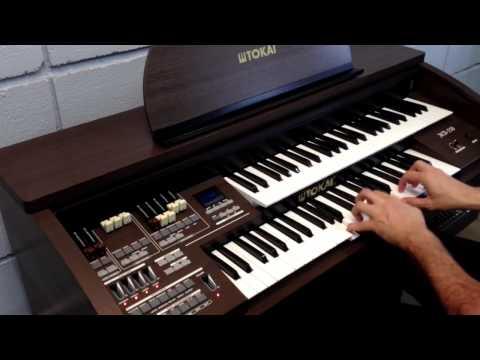 Fantasma da Ópera - Órgão Tokai MD-550 - Michel Barbaro