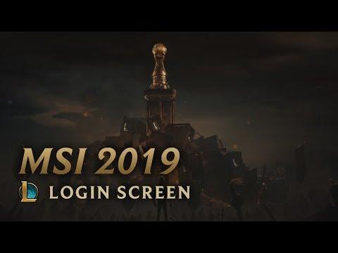 MSI 2019 | Login Screen - League of Legends (featuring Sara Skinner)