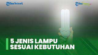 5 Jenis Lampu yang Sesuai dengan Kebutuhan Rumah