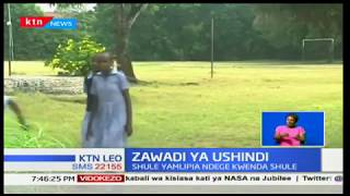 Zawadi ya Ushindi:Shule yamlipia mwanafunzi bora ndege kwenda shule