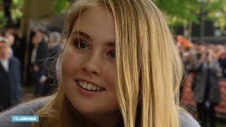 Amalia populairder na Koningsdag: 'Daar stond een echte, jonge vrouw'