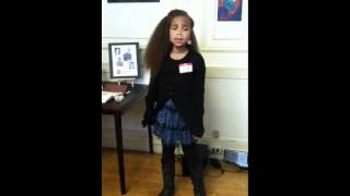 Liana sings Alicia Keys - Sure looks good to me