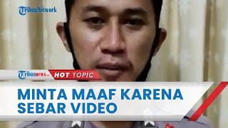 Sebarkan Video Penganiayaan oleh Kapolres Nunukan, Brigadir SL Sampaikan Maaf: Saya Sangat Menyesal