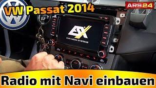 Autoradio mit Navigation im VW Passat (Bj. 2014) einbauen I ARS24