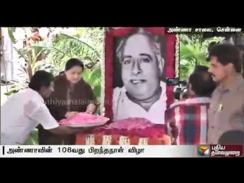 Jayalalithaa-Karunanidhi-pay-tributes-to-Anna-on-his-108th-birthday