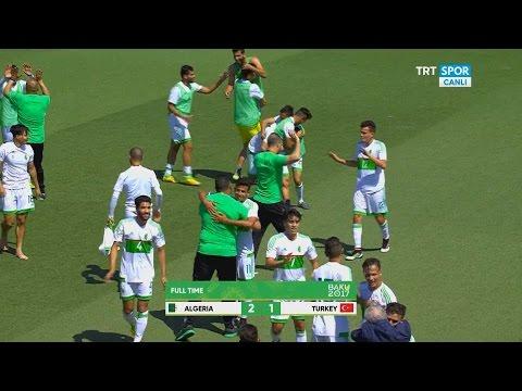 اهداف مباراة الجزائر 2-1 تركيا