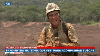 """Band Entra Na """"zona Quente"""" Para Acompanhar Buscas"""