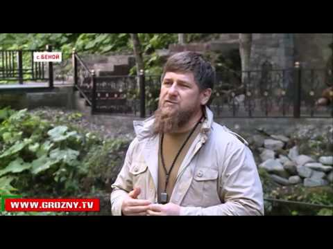 Рамзан Кадыров посетил церемонию вывода невесты на родник в Беное