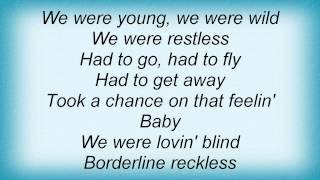 Josh Gracin - We Weren't Crazy Lyrics