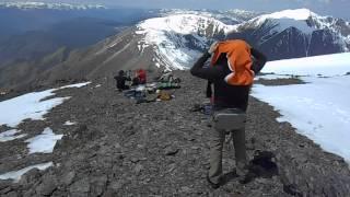 Обед на вершине 3000 м. Курайский хребет.