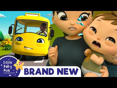Buster's Wheels on The Bus | BRAND NEW | +More Nursery Rhymes & Kids Songs | Little Baby Bum