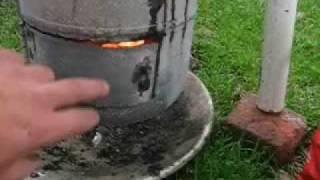 homemade smoker, cooker, griller, BBQ, prototype (NZ)