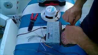 Radio Install on boat
