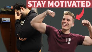 HOW TO STAY MOTIVATED IN THE GYM | HOW TO OVERCOME PLATEAUS IN THE GYM