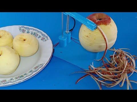 Amazing Kitchen tool , How to make automatic fruit peeling machine