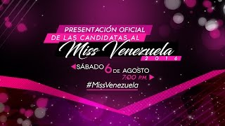 Miss Venezuela 2016 Official Press Presentation