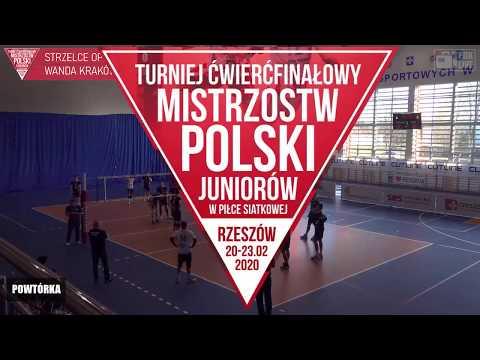 TRANSMISJA LIVE: 1/4 finału Mistrzostw Polski Juniorów. Gra AKS V LO Rzeszów!