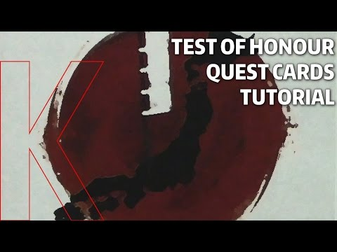 How Quest Cards Work in Test of Honour