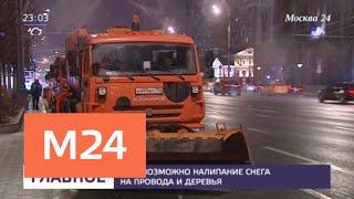 Московские коммунальщики вышли на борьбу с гололедицей - Москва 24