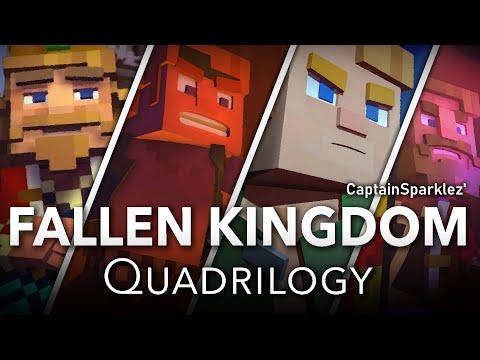 Fallen Kingdom Quadrilogy: Fallen Kingdom, Take Back The Night, Find The Pieces, &amp Dragonhearted