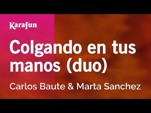 Colgando en tus manos Carlos Baute