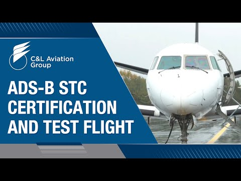 ADS-B STC Certification and Test Flight