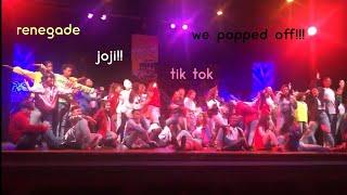 my school performed TIK TOK DANCES