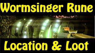 Destiny Wormsinger Rune Guide & Loot!! (The Taken King Dreadnaught Secret)