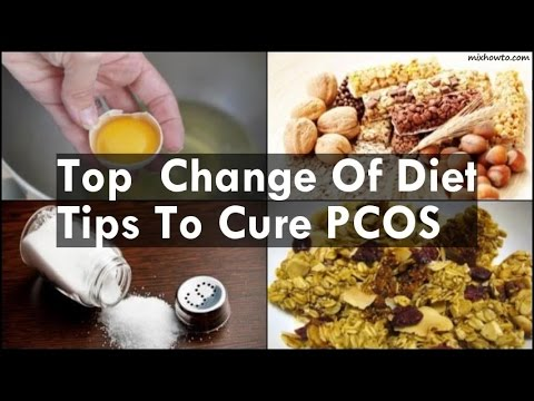 Video Change Of Diet Tips To Cure PCOS