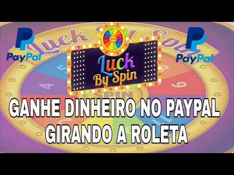 Como Ganhar Dinheiro no Paypal Girando a Roleta e Convidando Amigos (Lucky by Spin)