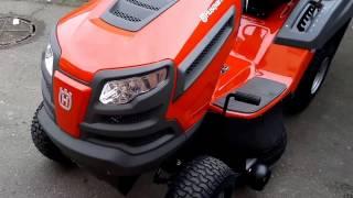 New Garden lawn tractor Husqvarna TC 139 T twin