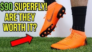 HOW GOOD IS THE $90 SUPERFLY? - Nike Mercurial Superfly 6 Academy MG (Orange) - Review + On Feet