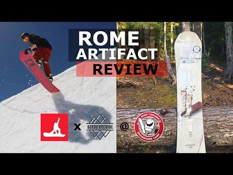 2017 Rome Artifact Snowboard Review