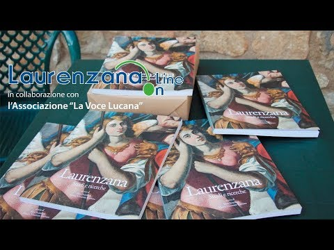 """Preview video Video presentazione libro """"Laurenzana, Studi e Ricerche"""" Laurenzana 10 giugno 2018"""