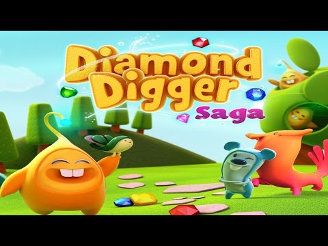 Diamond Digger Saga - iOS / Android - HD (Sneak Peek) Gameplay Trailer