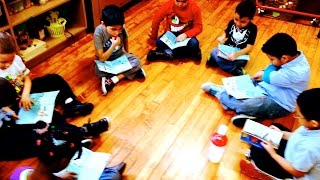 Learning to Read in Kindergarten ( Guided Reading Lessons)