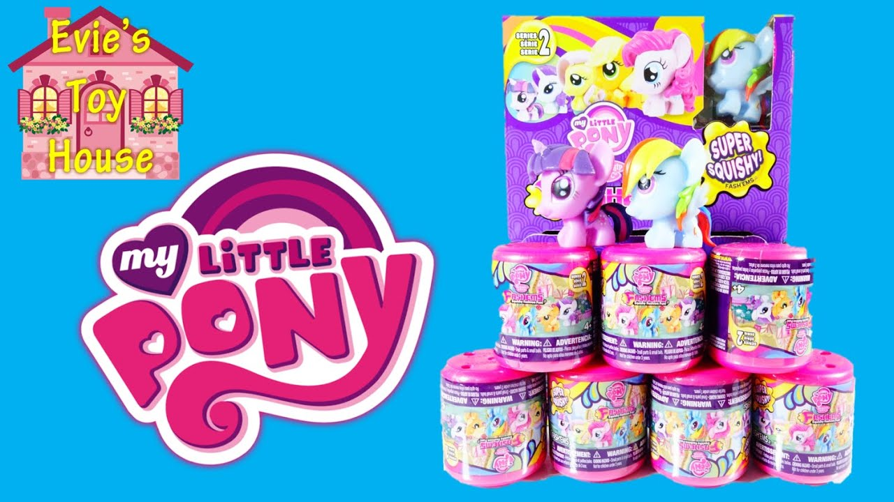 My Little Pony Series 2 Fashems | Evies Toy House