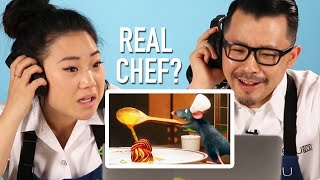What do real professional chefs think of how cooking and kitchen etiquette are portrayed in movies? The chefs from Jeju Noodle Bar and Marta take a look at how cooking in the kitchen is depicted in pop culture, and tell us how accurate they really are.  Credits: https://www.buzzfeed.com/bfmp/videos/67916  Check out more awesome videos at BuzzFeedVideo! https://bit.ly/YTbuzzfeedvideo  GET MORE BUZZFEED: https://www.buzzfeed.com https://www.buzzfeed.com/videos https://www.youtube.com/buzzfeedvideo https://www.youtube.com/asis https://www.youtube.com/buzzfeedmultiplayer https://www.youtube.com/buzzfeedviolet https://www.youtube.com/perolike https://www.youtube.com/ladylike  BuzzFeedVideo BuzzFeed's flagship channel. Sometimes funny, sometimes serious, always shareable. New videos posted daily! To see behind-the-scenes & more, follow us on Instagram @buzzfeedvideo http://bit.ly/2JRRkKU  Love BuzzFeed? Get the merch! BUY NOW: https://goo.gl/gQKF8m MUSIC  Licensed via Audio Network    EXTERNAL CREDITS Marta https://www.instagram.com/martamanhattan/ + Lena Ciardullo https://www.instagram.com/lenaciardullo/ + Joe Tarasco https://www.instagram.com/jotarasco/ + Jeju Noodle Bar https://www.instagram.com/jejunoodlebar/ + Jane Peang https://www.instagram.com/peangsta/ + Douglas Kim https://www.instagram.com/chefdouglaskim/